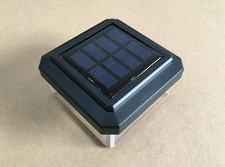 China Energy Saving Garden Solar Post Lights , Solar Powered Post Top Lights supplier