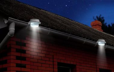 China Led Solar Powered Gutter Lights , Exterior Solar Led Gutter Safety Light supplier