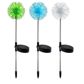 China Decoration Solar Garden Stake Lights With Dandelion , Multiple Color supplier