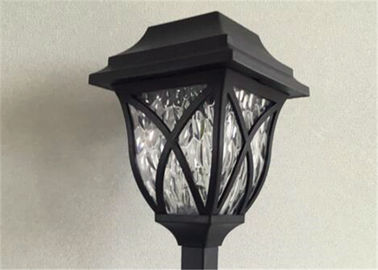 China Yards / Beyond Black Solar Powered Outdoor Lights With Special Lens , 14x45cm Size supplier