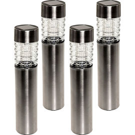 China White Glass Contemporary Bollard Lighting Outdoor Garden Shed Lighting supplier