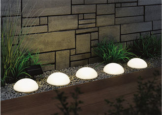 China Ultra Bright Solar LED String Lights Decoration In Ground Well Light Ball supplier