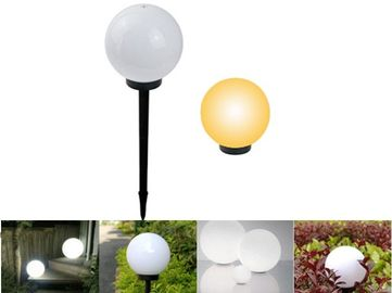 China Waterproof Solar Powered Outdoor Lights / Outdoor Solar Ball Lights Energy Saving supplier