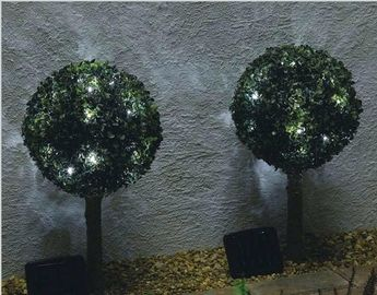 China Outdoor Backyard Solar LED String Lights For Trees , Solar Powered Led Fairy String Lights supplier