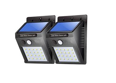 China 20 LED Solar Powered External Security Lights , Outdoor Solar Wall Mounted Lights supplier