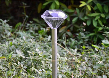 China Mini Garden Solar Diamond Solar Lights For Promotion 4PK 0.06W Power supplier