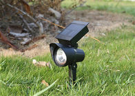 China Pure Garden Solar LED Spotlight Waterproof Outside Solar Landscape Spotlights factory