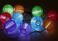 China Decorative Solar Chinese Lantern String Lights For Wedding / Holiday Party factory