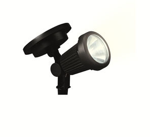China Exterior Solar LED Spotlight 10 Lumens 5500K With Polycrystalline Silicon Panel factory
