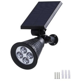 China IP65 Solar LED Wall Light Outdoor LED Solar Lawn Lights For Decks / Pathways factory
