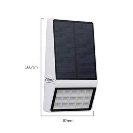 China Outdoor Motion Detector Solar LED Security Light With Radar Microwave distributor