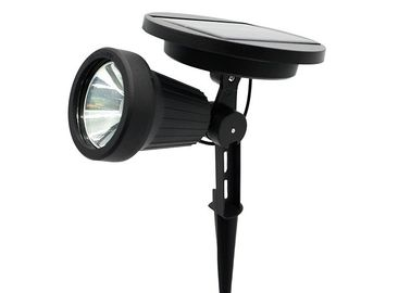 China Super Bright Solar LED Spotlight For Landscape Wall , Aluminium Finish distributor