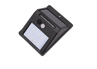 China Water Resistant Solar LED Motion Sensor Light For Deck / Yard Plastic Material distributor