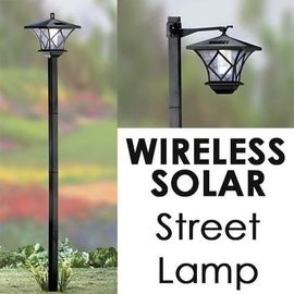 China Solar Garden Post Lights Outdoor Landscape Lighting For Yard , Plastic Material distributor