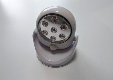 China Motion Detector Rotating Led Cabinet Lighting Round Shape 250*30*25mm Size distributor