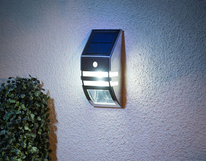5730 SMD LED Solar Powered Motion Sensor Security Light For Stairs / Patios