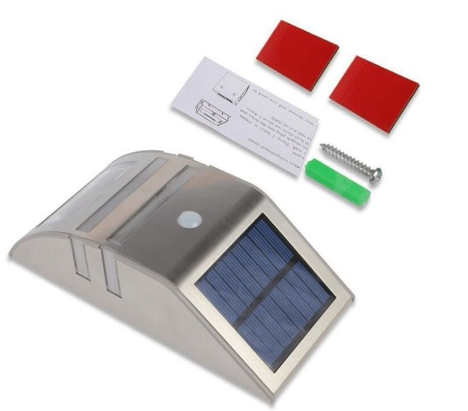 Motion Activated Integrated Solar Lights For Outside Steps Wall Mounted