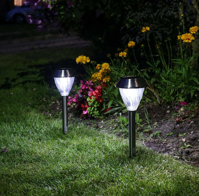 IP44 Waterproof Solar Powered Patio Lights 6500K CCT With 0.06W Power