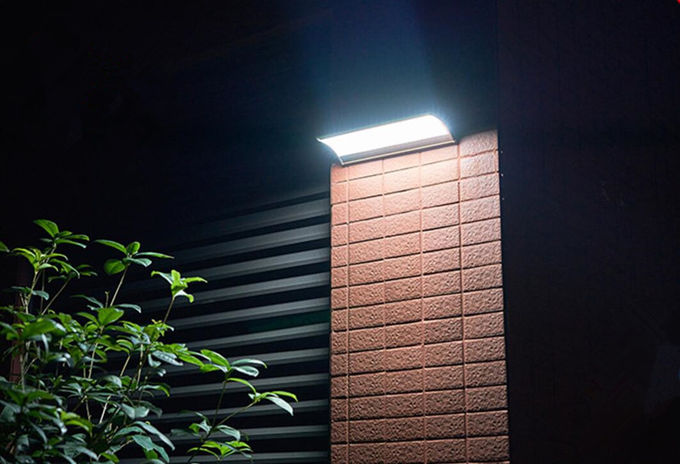 Radar Induction Solar Powered Security Light With Motion Sensor Battery Operated