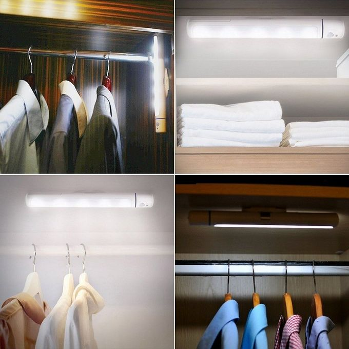 Motion Activated LED Closet Light All In One Bedroom Wardrobe Lighting